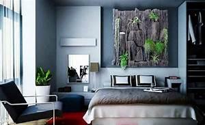 Wandgestaltung Schlafzimmer Lila : schlafzimmer ideen farbgestaltung besser schlafen ~ Markanthonyermac.com Haus und Dekorationen