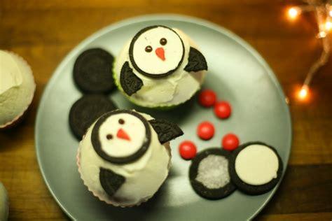christmas cupcakes recipes reindeers  penguins