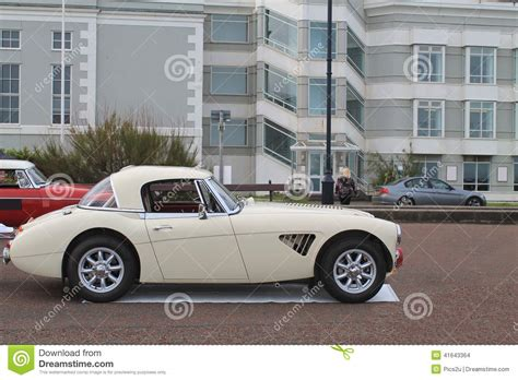 Classic Stylish British Sports Car. Image