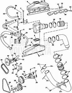 Volvo Penta Exploded View    Schematic Exhaust And Cooling