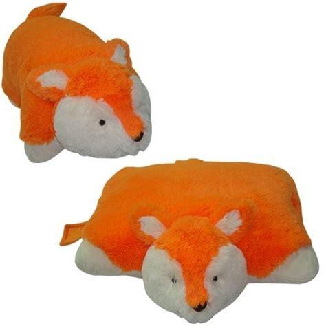 small pillow pets small fox pillow pet quot animallow quot brand 11 quot best pet pillow