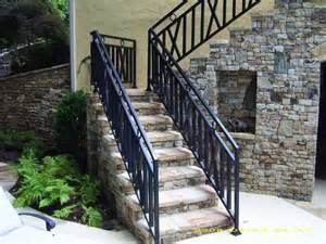Bathroom Remodeling Fort Lauderdale by Exterior Wrought Iron Handrail Railing Mediterranean