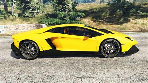 Lamborghini Aventador Lp720-4 50th Anniversary For Gta 5