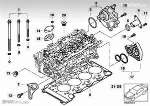 Cylinder Head Attached Parts Bmw 3 U0026 39  E46  316i  N46   U2014 Bmw