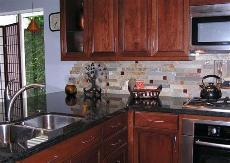 Fire And Ice Backsplash : Which Back Splash With This? Or One Of Your Own Ideas