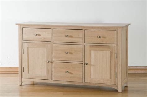 Light Oak Sideboard by Corbridge Light Oak Sideboard Fully Assembled Oak World