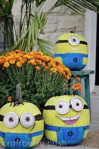 Halloween Kürbis Bemalen : minion pumpkins tobias pinterest halloween halloween ideen und halloween deko ~ Eleganceandgraceweddings.com Haus und Dekorationen