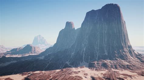 Rock Formations in the Nevada Desert Motion Background ...