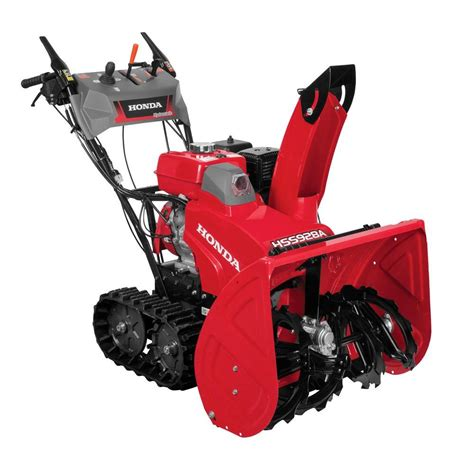 best snow blower honda 28 in hydrostatic track drive 2 stage gas snow