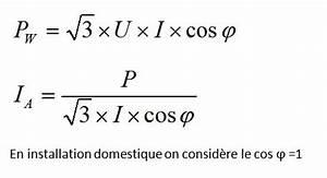 Formule Puissance Electrique : calcul watt en fonction amp rage ~ Dode.kayakingforconservation.com Idées de Décoration
