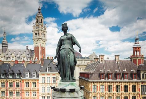 siege lille the siege statue of and places on
