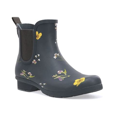 Chooka - Women's Chooka Waterproof Flower Print Chelsea ...