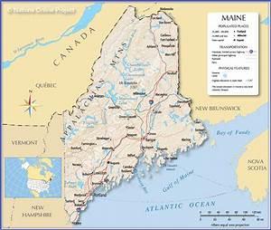 Maine  El Estado Apodado The Pine Tree State  El Estado De Los Pinos - Sociedad