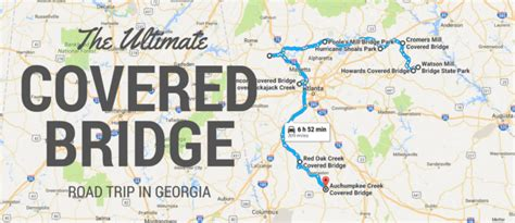 The Ultimate Covered Bridge Road Trip In Georgia