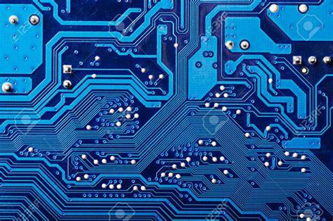 Blue Digital Circuit Board Background Free Download