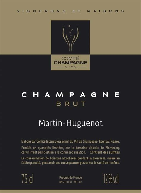 recognizing real champagne reading  champagne label