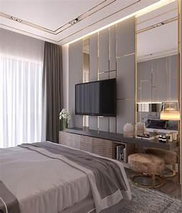 Modern, Style, Bedroom, Dubai, Project, On, Behance