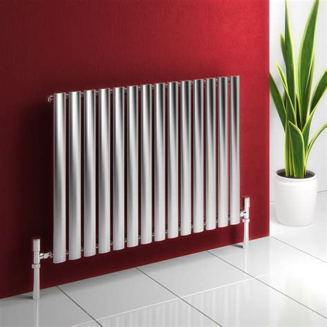electric water heaters reina nerox brushed stainless steel tubular radiator 600mm