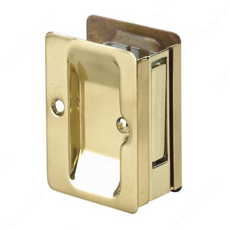 pocket door pull pocket door pull with passage handle rectangular