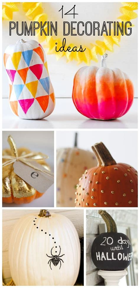 Creative Pumpkin Decorating Ideas by 323 Best Decor Images On