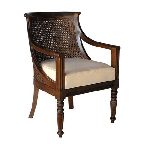 Cane Barrel Arm Chair • Akd Furniture