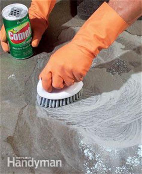 remove paint  concrete   stains