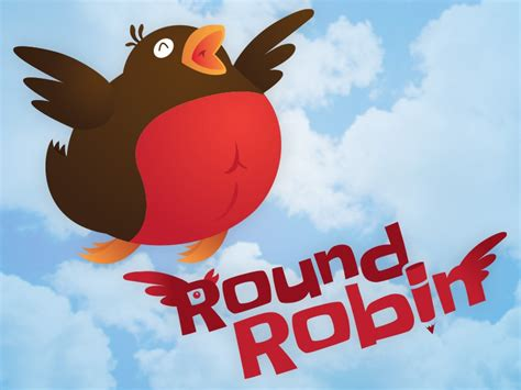 Round Robin Logo By Dylan Wilkinson On Dribbble
