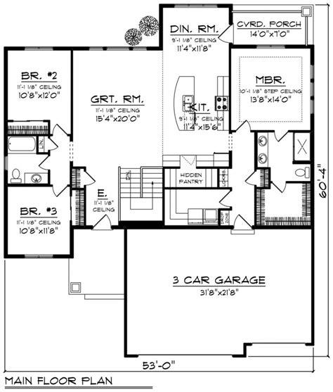 home floor designs baby nursery ranch style bungalow floor plans simple