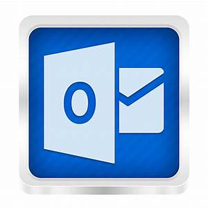 Outlook Icon - Boxed Metal Icons - SoftIcons.com