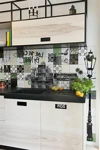 55 idees pour poser du carrelage mural chez soi With poser du carrelage mural cuisine