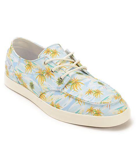 reef deckhand 2 turquoise aloha boat shoe reef deck 2 light blue aloha boat shoes