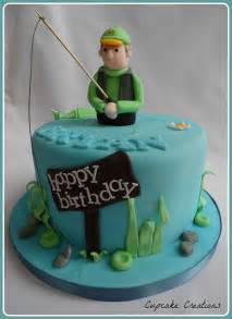 fisherman cake topper fishing theme cake cake ideas and designs