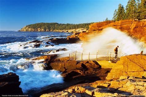 Acadia National Park Thunder Hole Maine