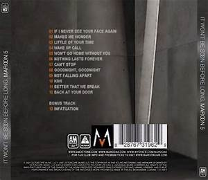 Maroon 5 - It Won't Be Soon Before Long on Collectorz.com ...