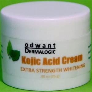 Proven Effective Kojic Acid Cream Skin Whitening ...