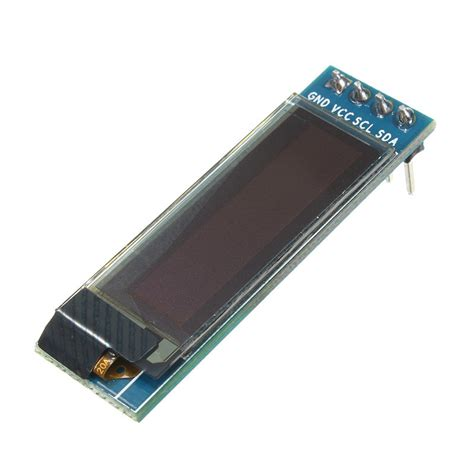 0 91 inch 128 215 32 iic i2c blue oled lcd display diy oled