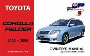 Toyota Corolla Fielder 2000