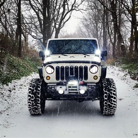jeep road lights nilight led jeep road lights with mounting brackets