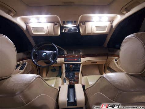 ecs news bmw  series  led interior lighting kit