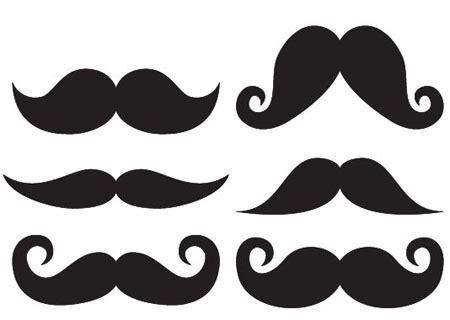 Moustache Template Mobawallpaper