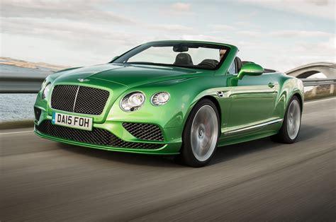 2018 Bentley Continental Gt Speed Convertible First Test