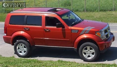 lifted jeep nitro wheel offset 2008 dodge nitro nearly flush suspension lift