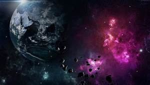 Galaxy Earth Planet Space Nebula Explosion