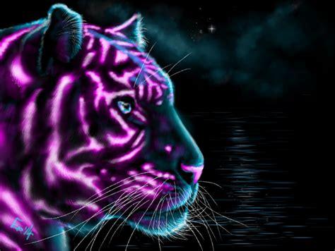 neon tiger weasyl