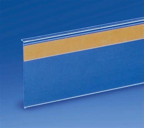 scaffali in plexiglass profili portaprezzi plexiglass per negozi adesivo chiama
