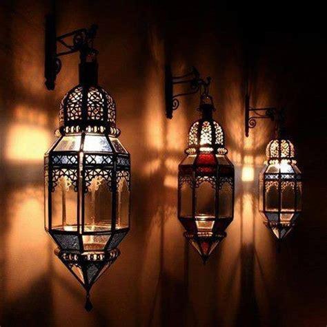 moroccan lanterns garden