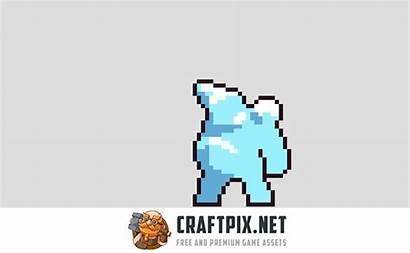 Pixel Enemy Sprites Snow Character Animation Craftpix