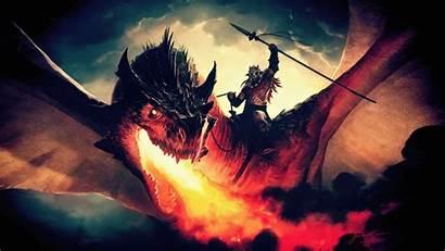 Magic Dragon Gathering Concept Arena 4k Wallpapers