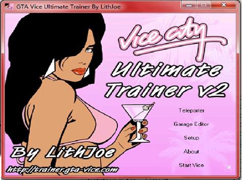Vice City Ultimate Trainer V2 (grand Theft Auto