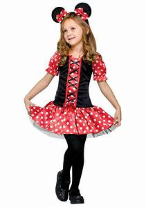 Minnie Mouse Toddler Halloween Costumes